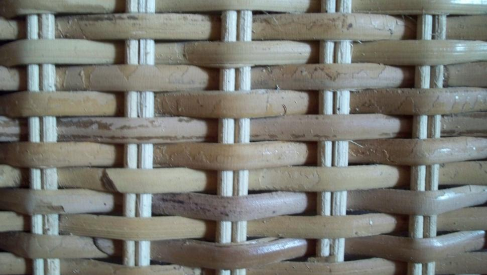 Download Free Stock HD Photo of Close-up of some basketwork Online