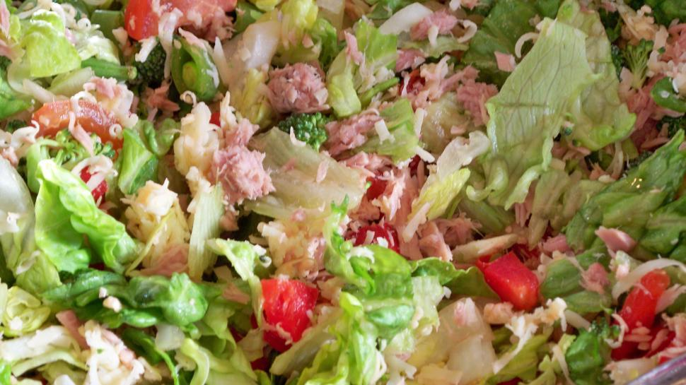 Download Free Stock HD Photo of Tuna Salad Picture Online