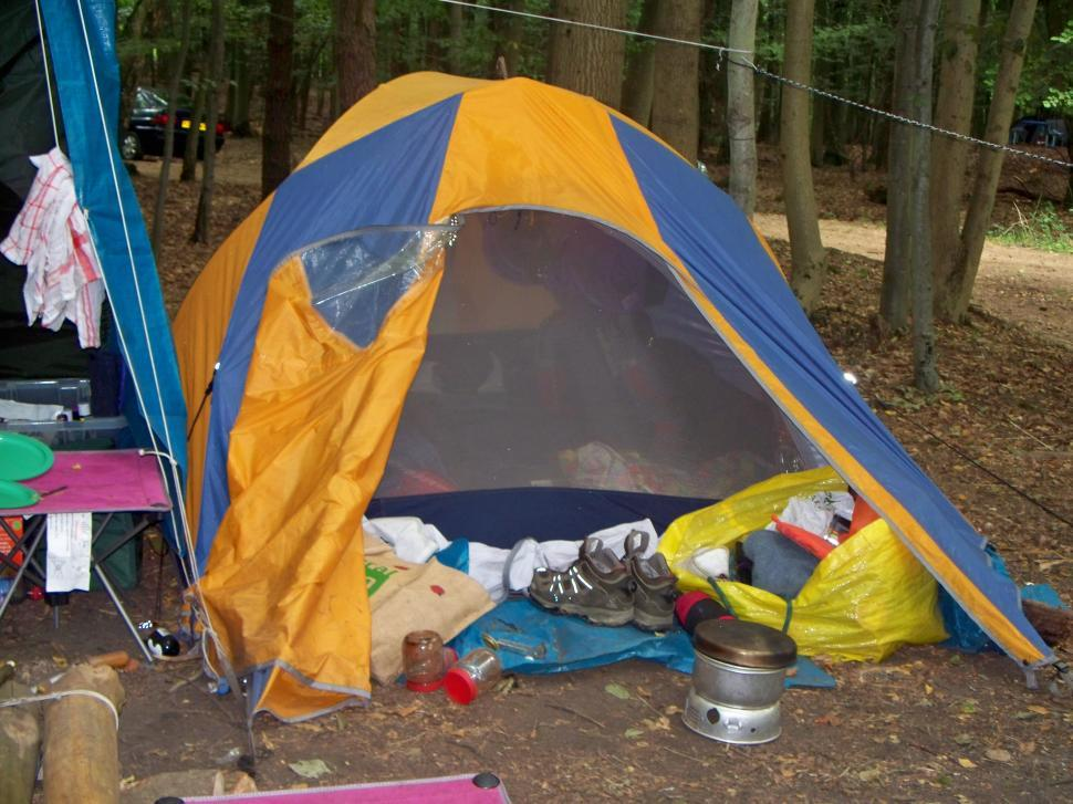 Download Free Stock HD Photo of Campsite and Tent Online