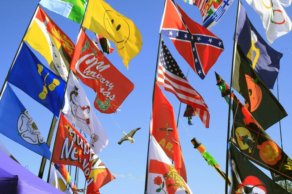 Download Free Stock HD Photo of flags Online