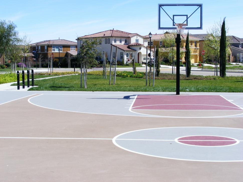 Download Free Stock HD Photo of Basketball Court Online