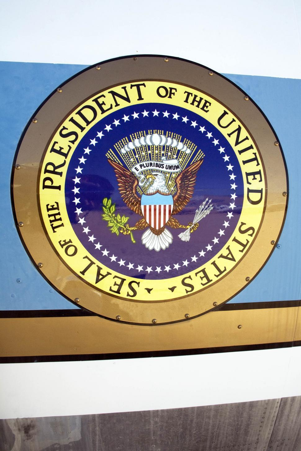 Get Free Stock Photos of airforce one - presidential seal