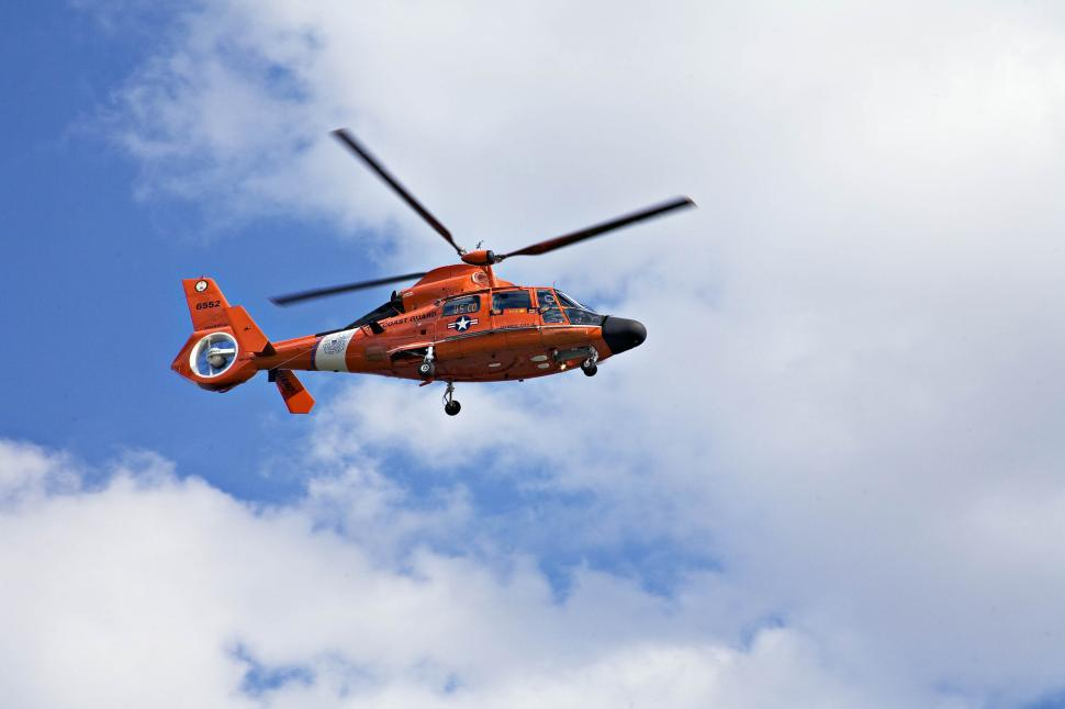 Download Free Stock HD Photo of A rescue helicopter Online