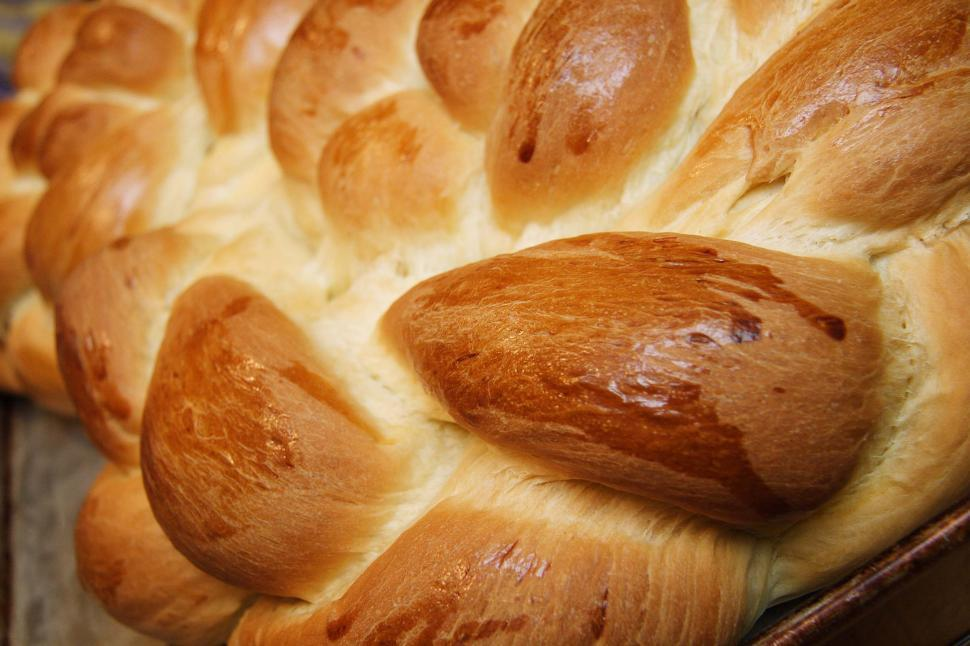Download Free Stock HD Photo of Challa Bread Braid Online