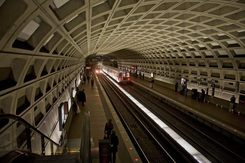 Download Free Stock HD Photo of Washington DC Subway Online