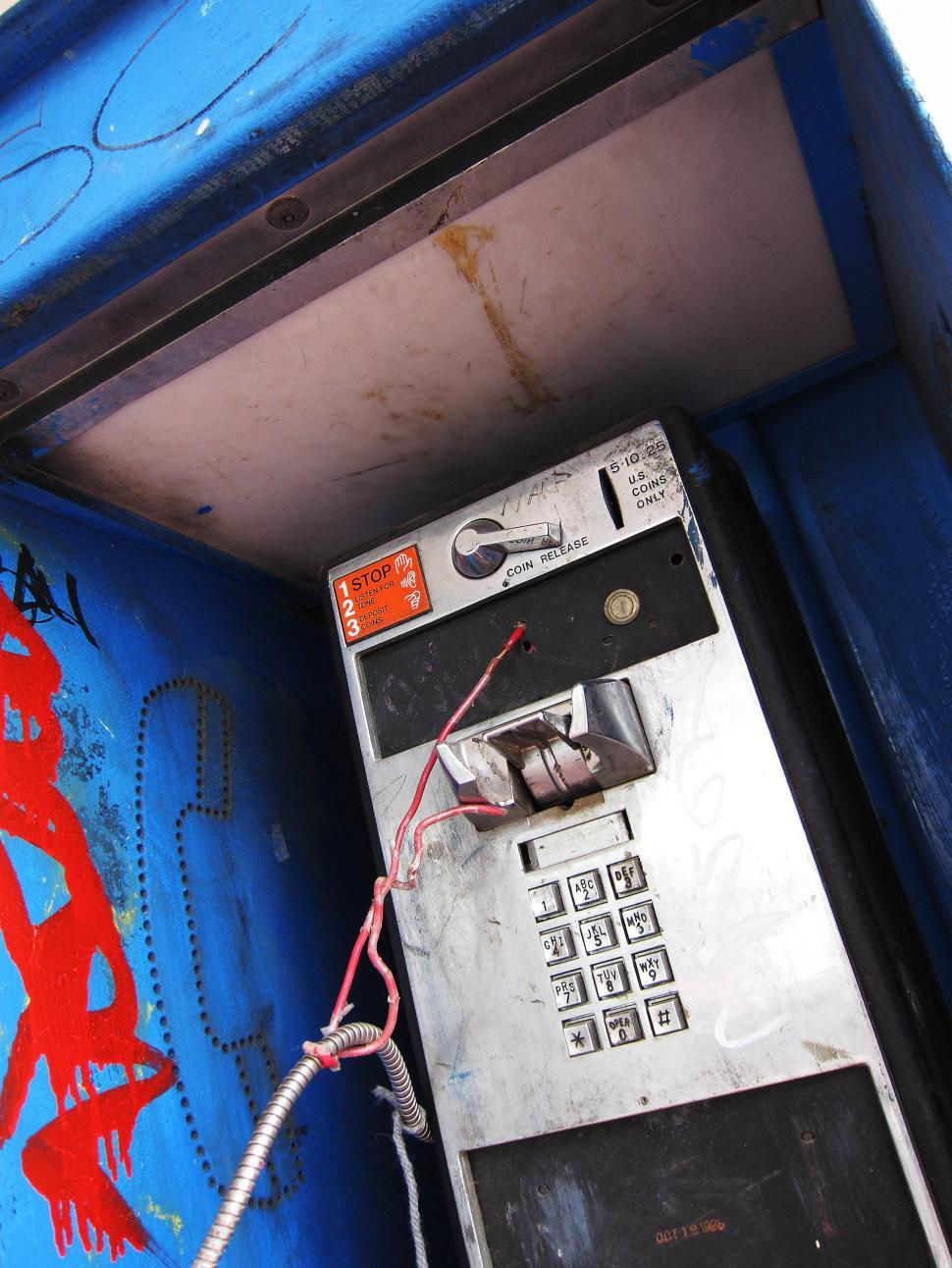 Download Free Stock HD Photo of Phone booth Online