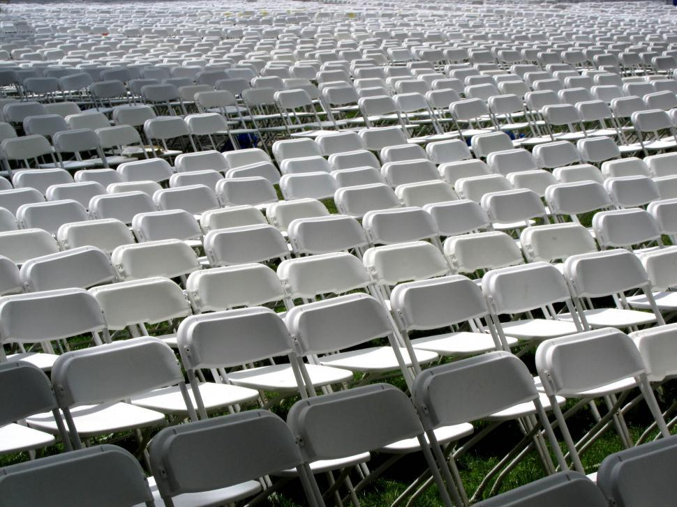 Download Free Stock HD Photo of folding chairs Online