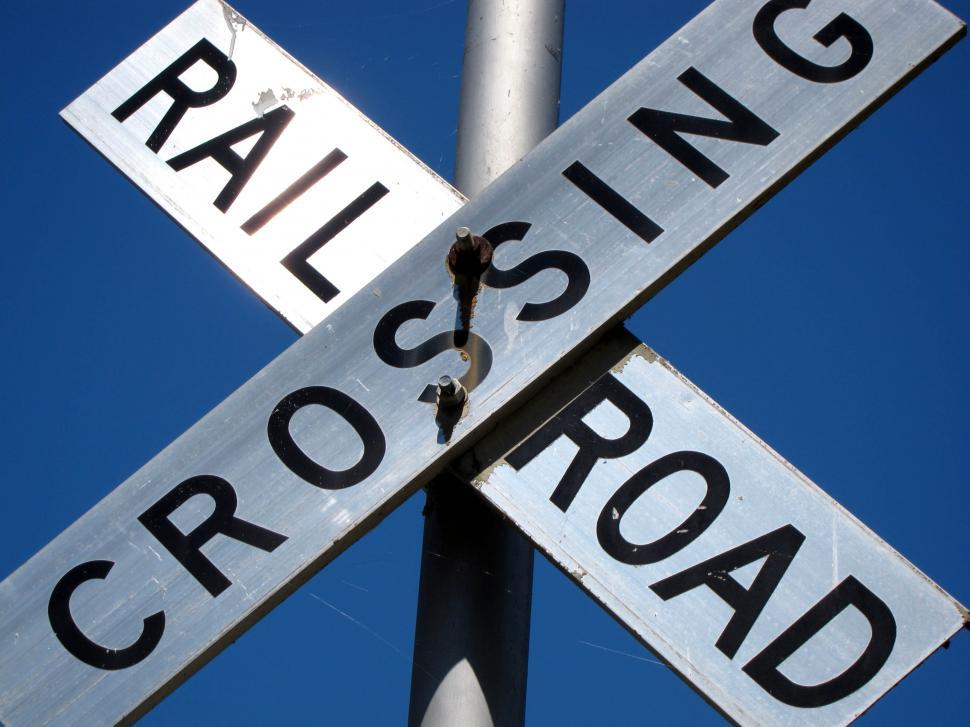 Download Free Stock HD Photo of rail road crossing Online
