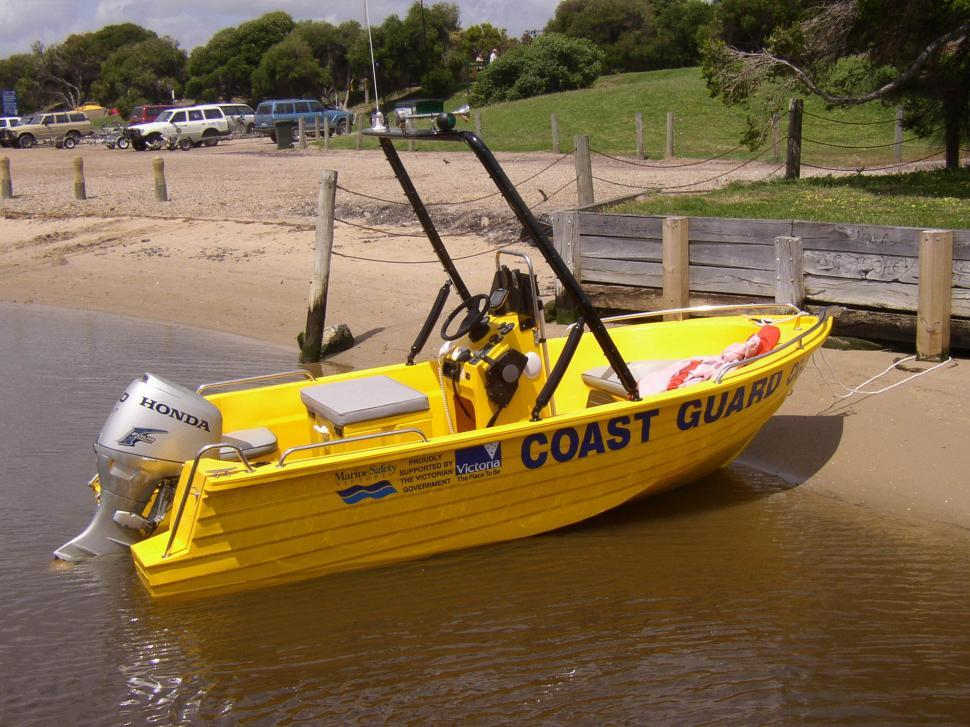 Download Free Stock HD Photo of Coastguard Boat Online