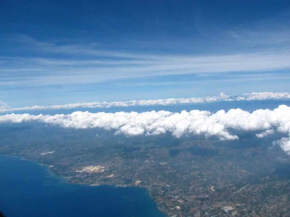 Download Free Stock HD Photo of Sky from plane Online
