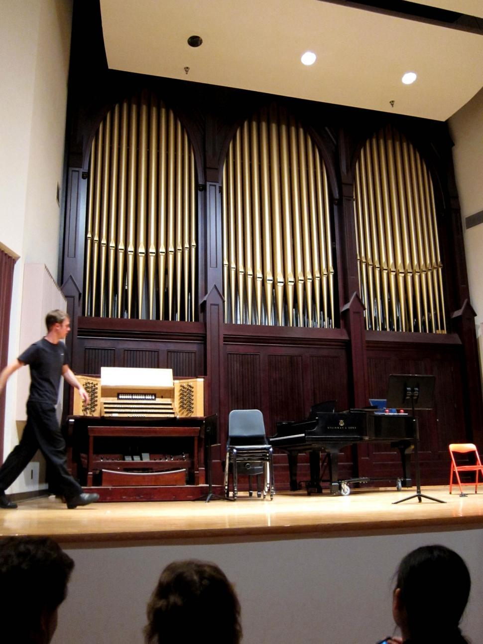 Download Free Stock HD Photo of auditorium pipe organ Online
