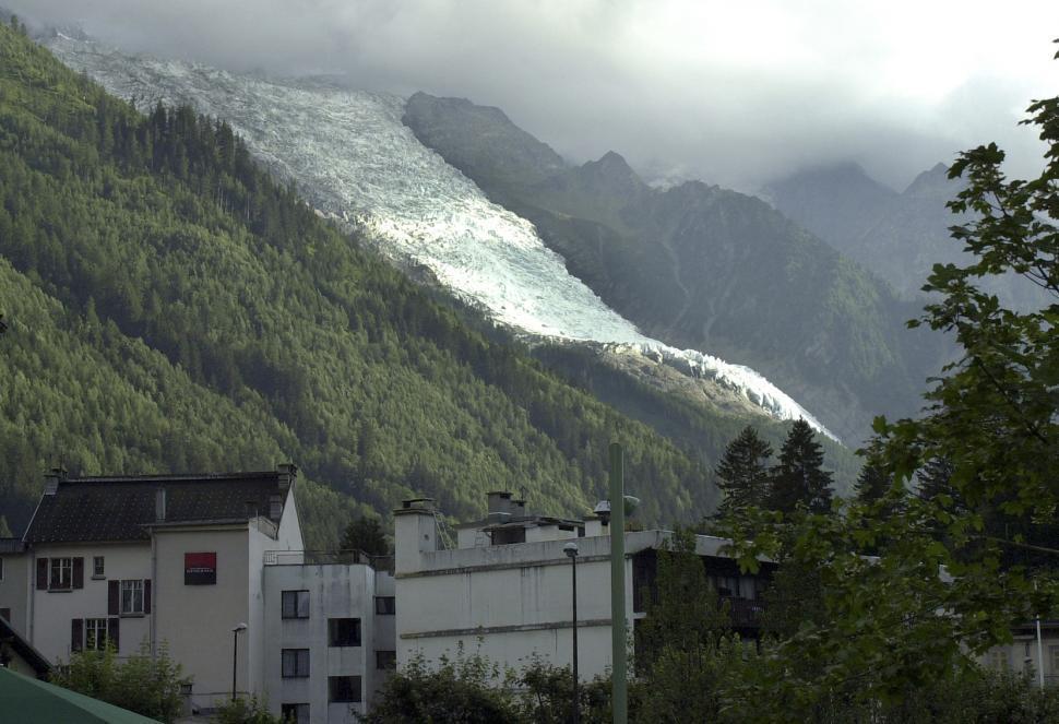 Download Free Stock HD Photo of Mount Blanc Glacier Online