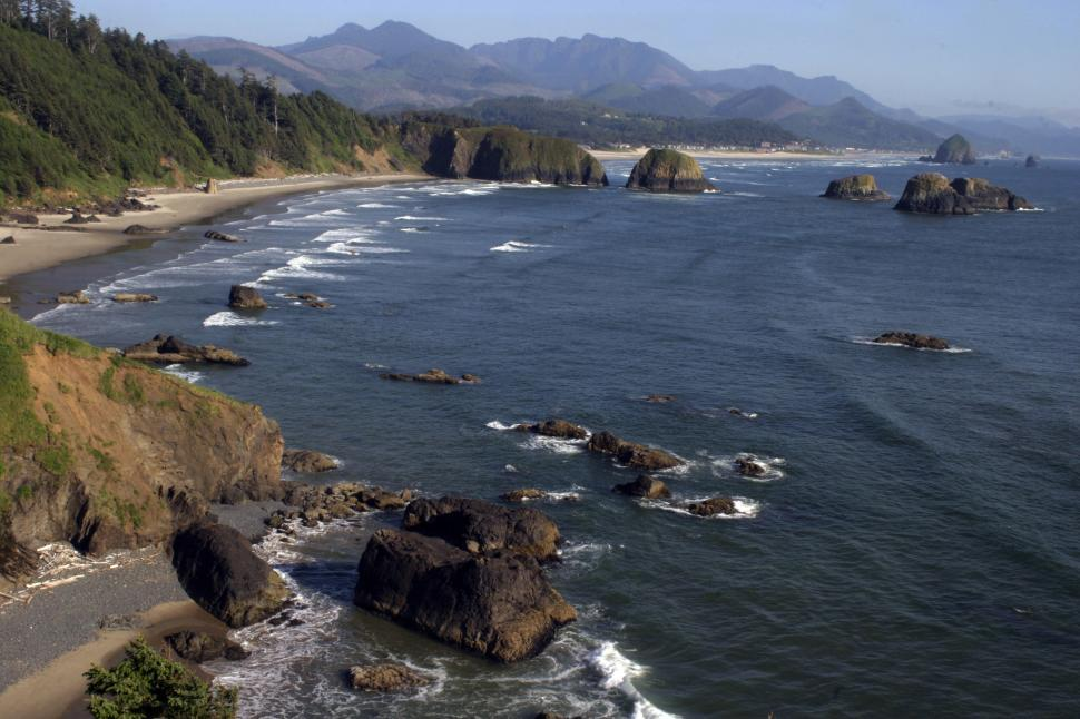 Download Free Stock HD Photo of Canon Beach, Oregon Online