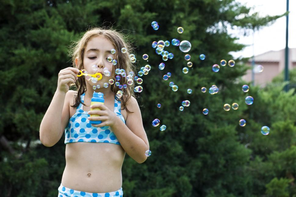Download Free Stock HD Photo of Playing with Bubbles Online