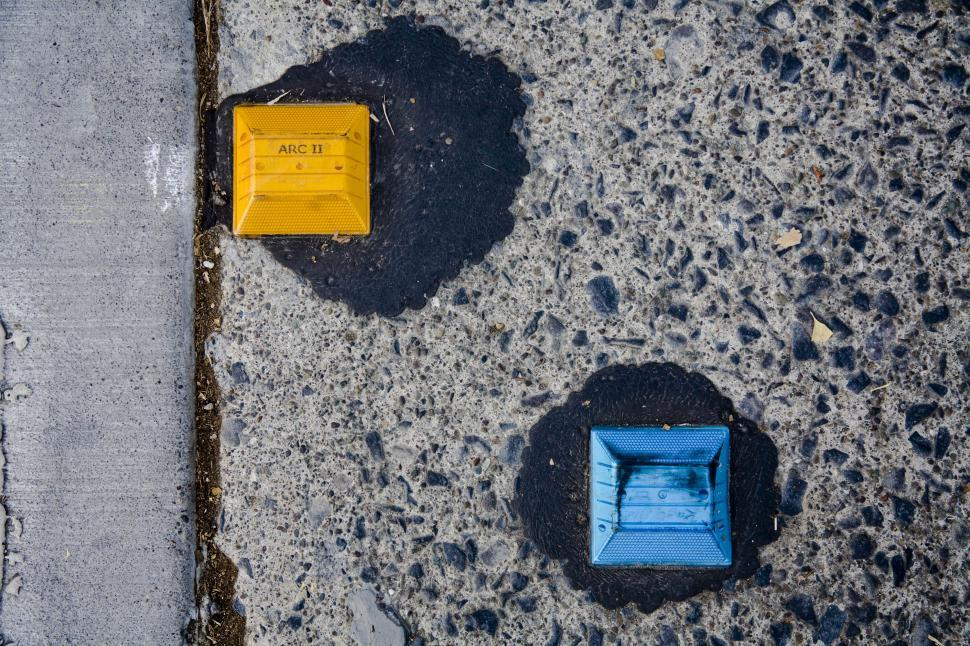 Download Free Stock HD Photo of Road refelectors Online