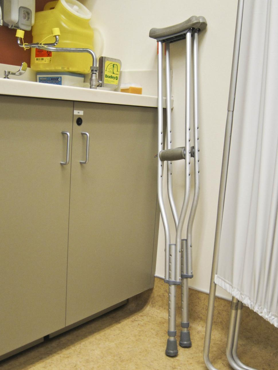 Download Free Stock HD Photo of Crutches Online