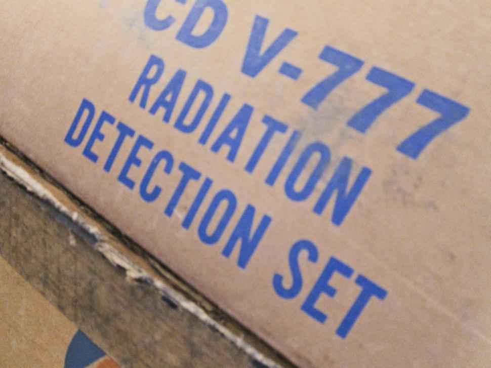 Download Free Stock HD Photo of Box for Radiation Detection Set Online