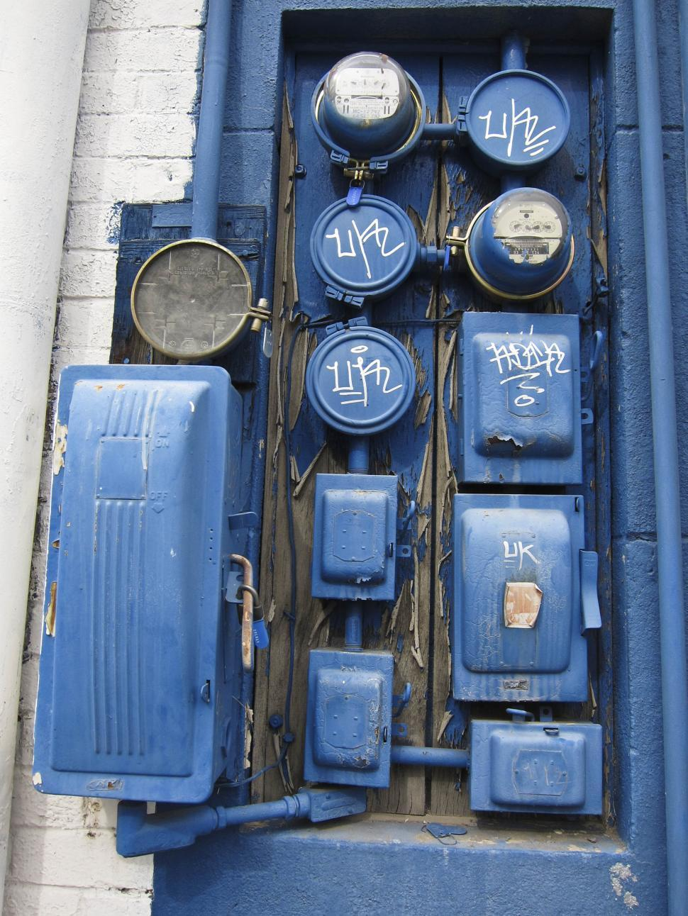 Download Free Stock HD Photo of Electric meters Online