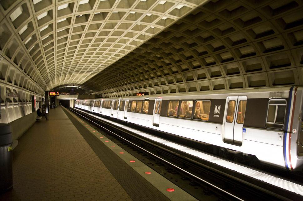 Download Free Stock HD Photo of Train Station - Washinton DC Online