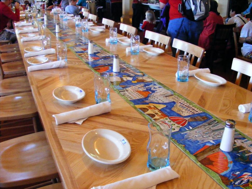 Download Free Stock HD Photo of Large Dinning Table Online