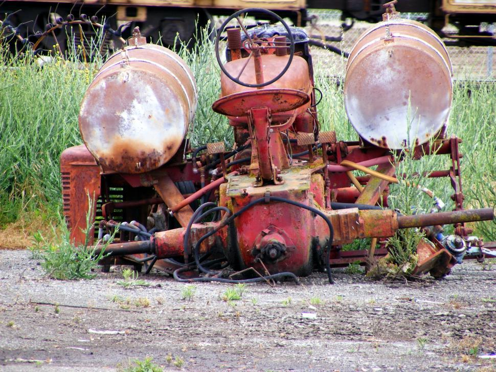 Download Free Stock HD Photo of Old Farm Tractor Online
