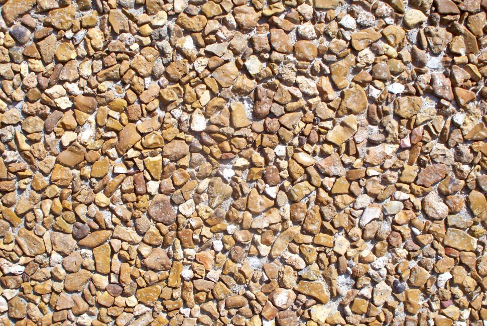 Download Free Stock HD Photo of Manufactured rock wall detail Online