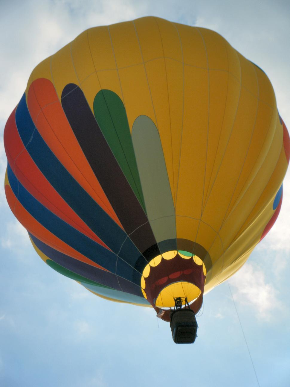 Download Free Stock HD Photo of Colorful hot air balloon in the sky Online