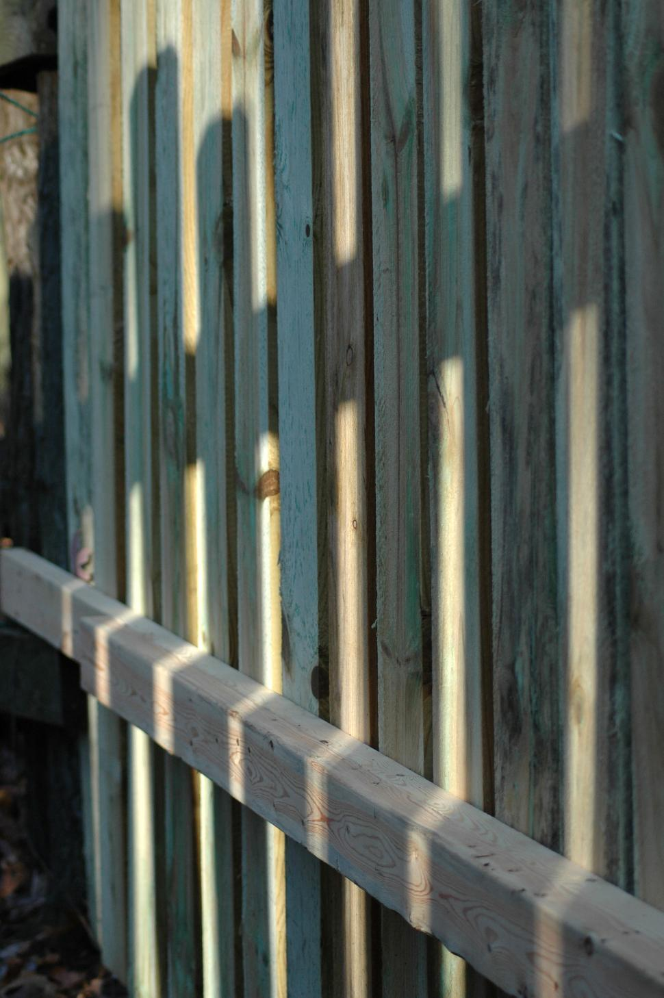 Download Free Stock HD Photo of Fence Shadow Pattern Online
