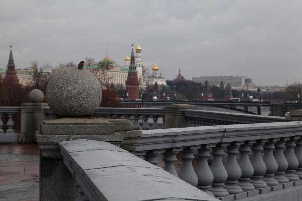 Download Free Stock HD Photo of December in Moscow Online
