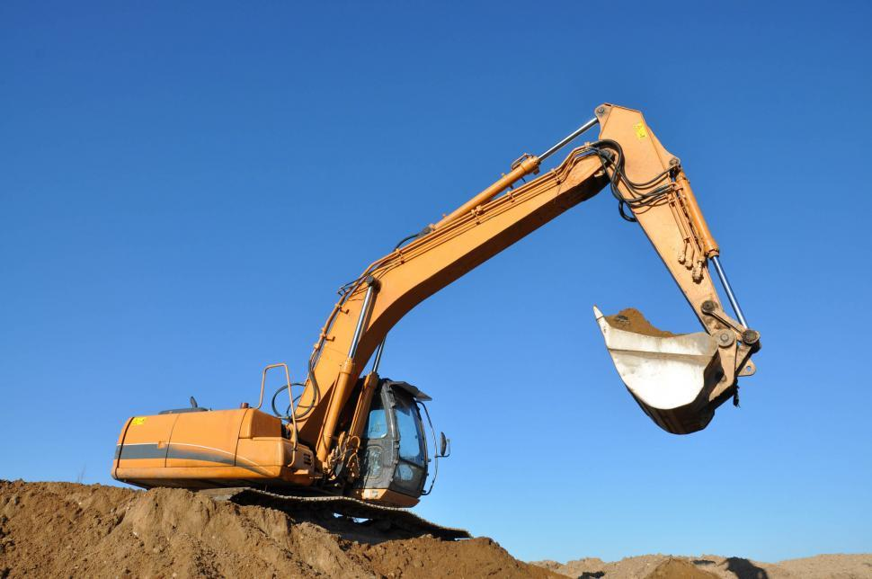 Download Free Stock HD Photo of Excavator Online