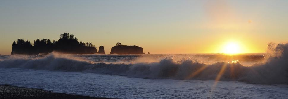Download Free Stock HD Photo of Rialto Beach Sunset Online