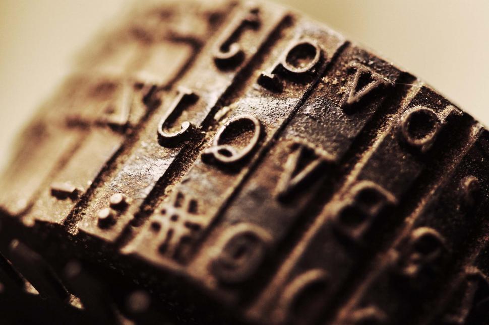 Download Free Stock HD Photo of Typewriter wheel Online