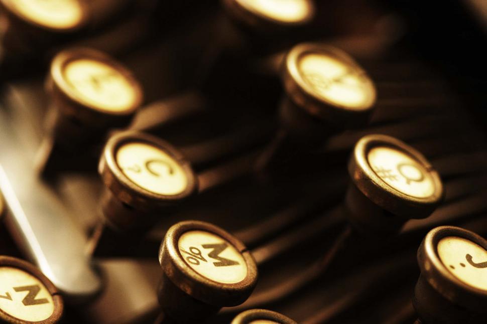 Download Free Stock HD Photo of German typewriter Online