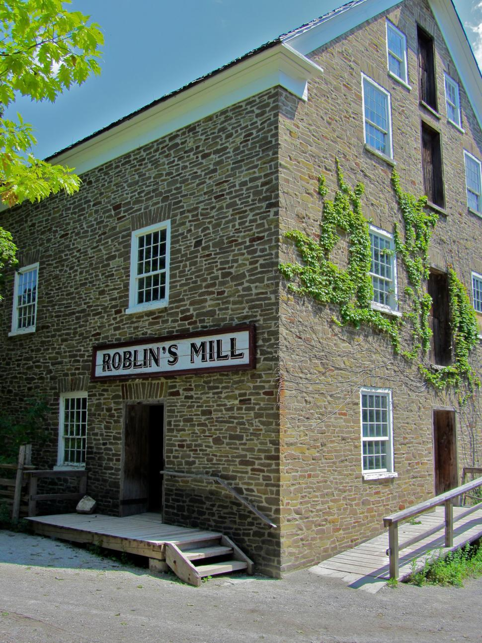 Download Free Stock HD Photo of Roblins Mill2 Online