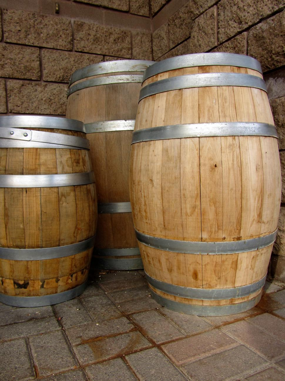 Download Free Stock HD Photo of Vintage Barrels 2 Online
