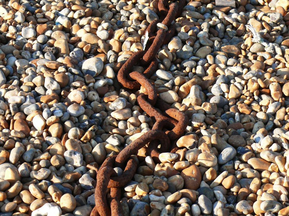 Download Free Stock HD Photo of rusted chain Online