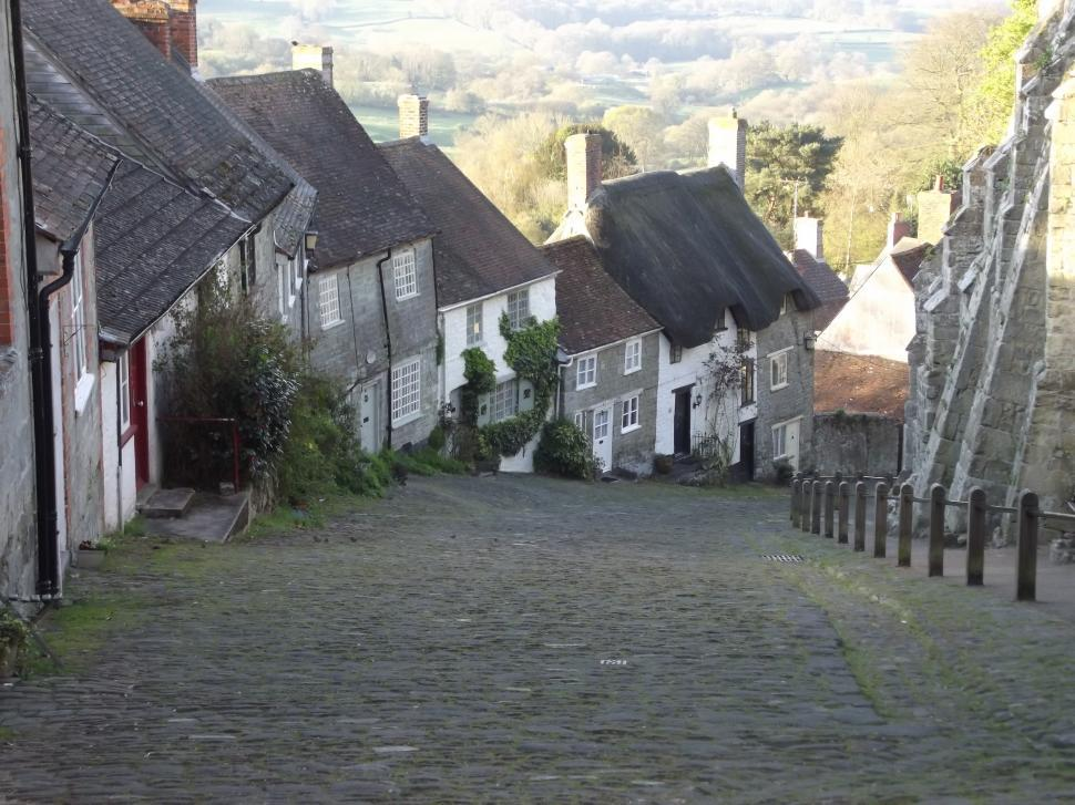 Download Free Stock HD Photo of Gold Hill Shaftesbury Online