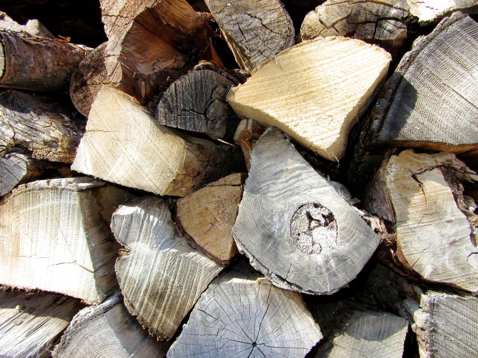 Download Free Stock HD Photo of Chopped Wood Online