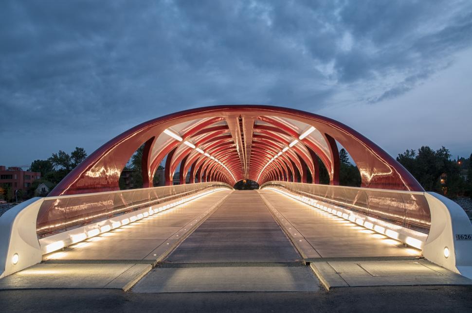 Download Free Stock HD Photo of Calgary Peace Bridge Online