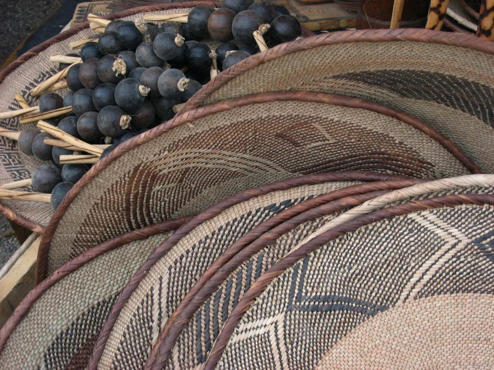 Download Free Stock HD Photo of Woven Baskets Online