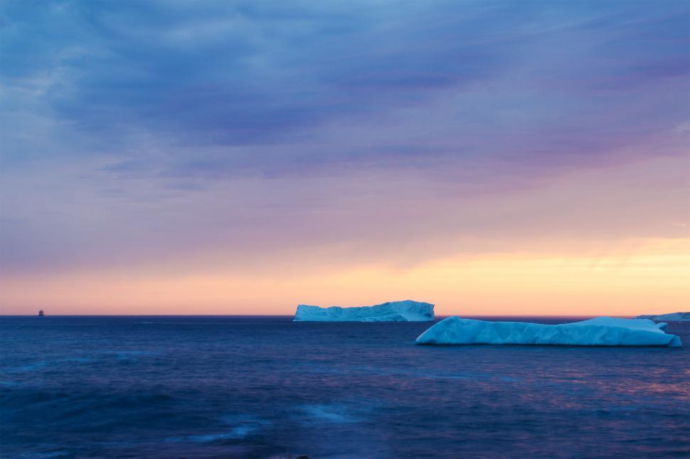 Download Free Stock HD Photo of Icebergs Online