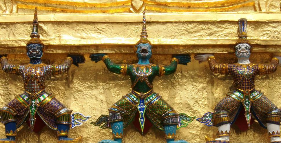 Download Free Stock HD Photo of Bangkok Wat Phra Kaew Online