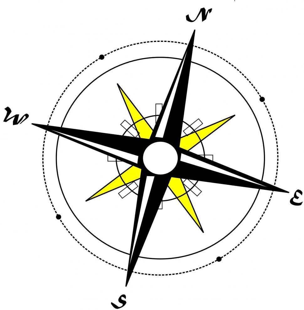 Download Free Stock HD Photo of Compass Illustration Online
