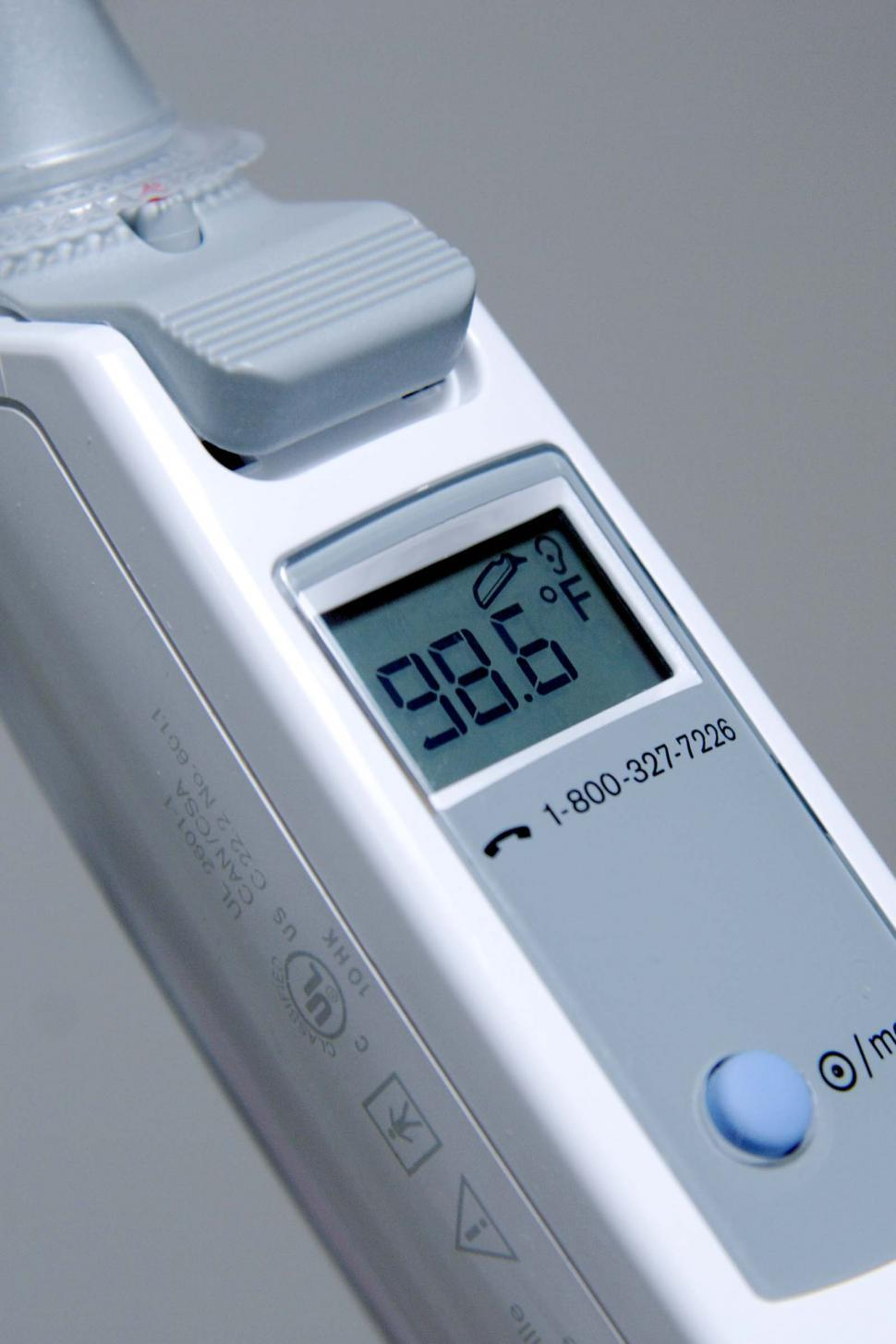 Download Free Stock HD Photo of Thermometer showing normal body temp Online
