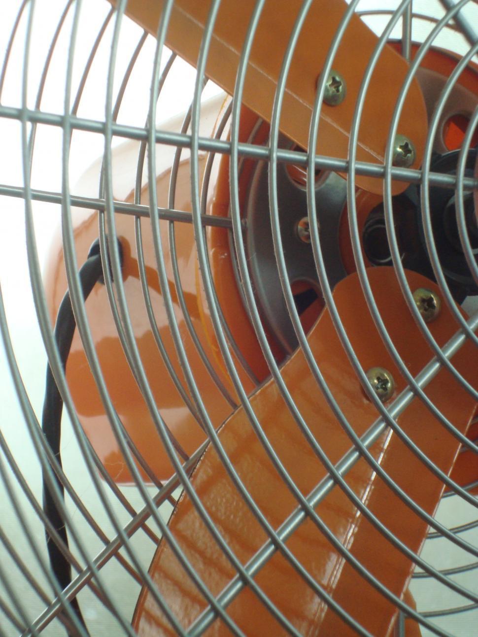 Download Free Stock HD Photo of Modern Orange Fan Online