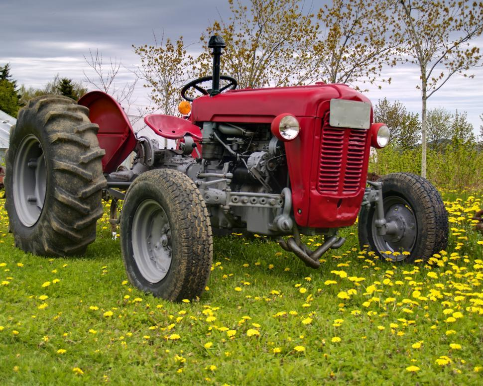 Download Free Stock HD Photo of Farm Tractor Online