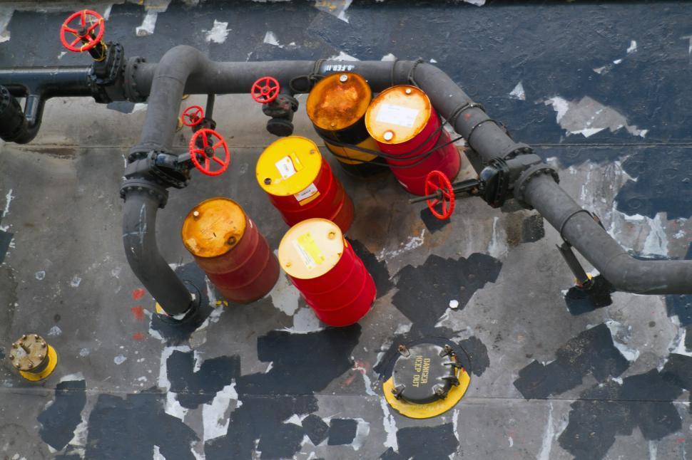 Download Free Stock HD Photo of Oil Barrels Online