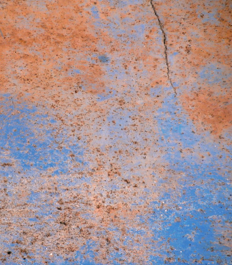 Download Free Stock HD Photo of Blue Cracked Metal Texture Online