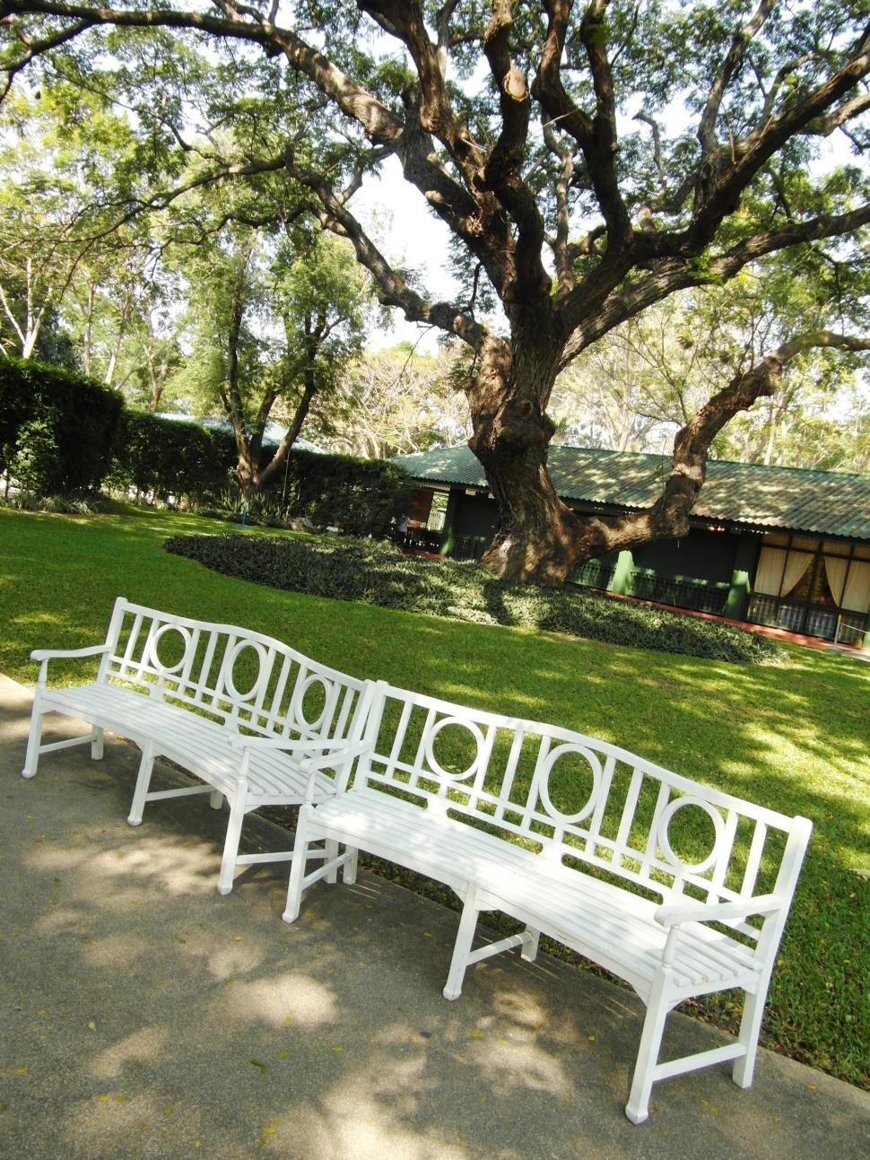 Download Free Stock HD Photo of Park Benches Online