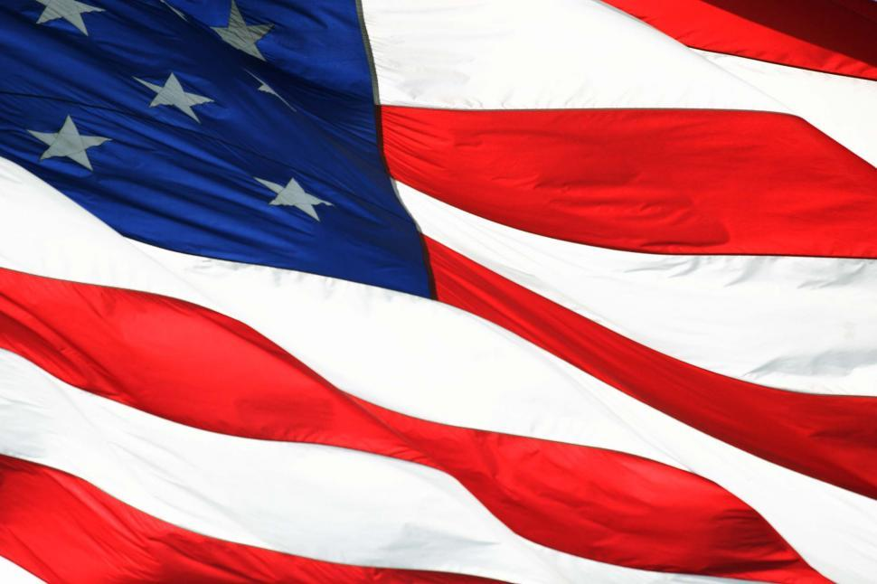 Download Free Stock HD Photo of Waving American Flag Online